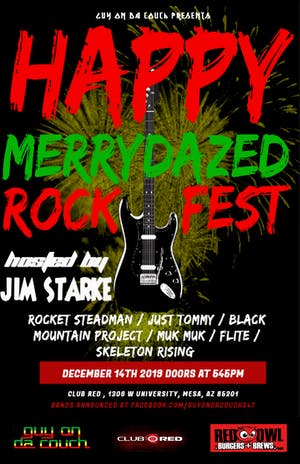Happy Merrydazed Rock Fest