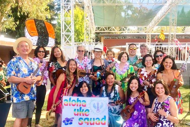 Aloha Uke Squad's Holiday Benefit Jam and Sing-Along