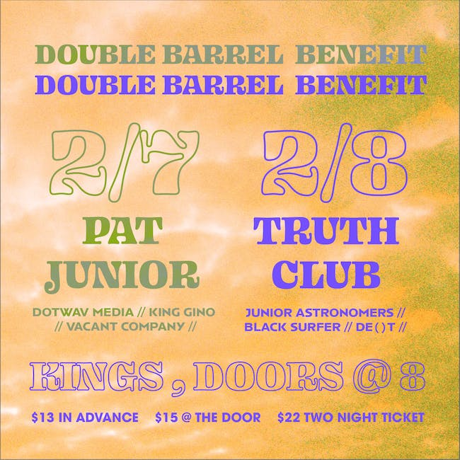 Double Barrel Benefit 17: Two Night Tickets