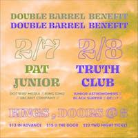 DBB Night 2: Truth Club, Junior Astronomers, Black Surfer, De()t