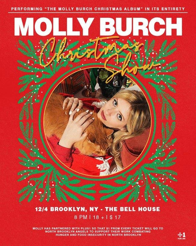 Molly Burch's Holiday Party with Special Guests