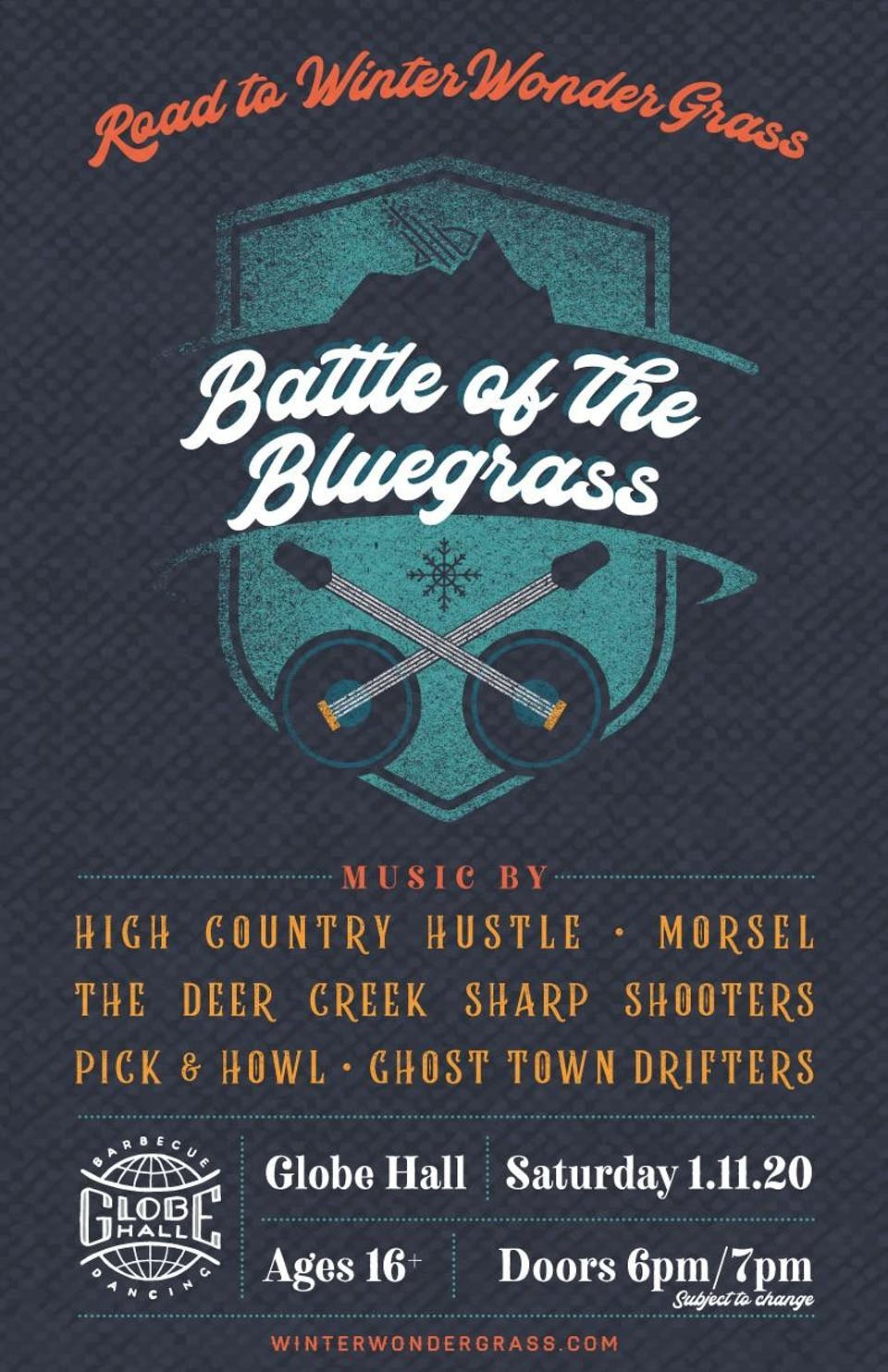 Road to Winter WonderGrass – Battle of the Bluegrass