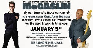 Donny McCaslin (Bowie's Blackstar) w/ Gail Ann Dorsey (Bassist-David Bowie)