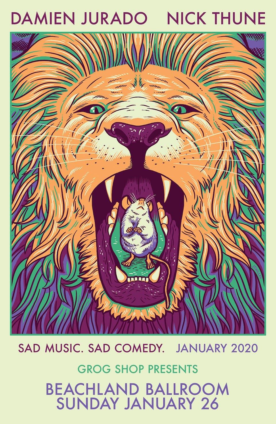 Damien Jurado and Nick Thune - Sad Music, Sad Comedy