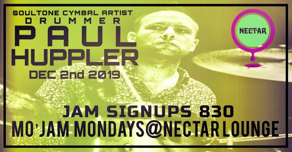 Mo' Jam Mondays ft Paul Huppler