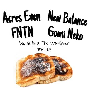 Acres Even, New Balance, FNTN, Gomi Neko