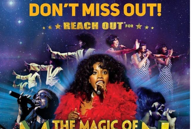 Magic of Motown - LAST 10 SEATS!