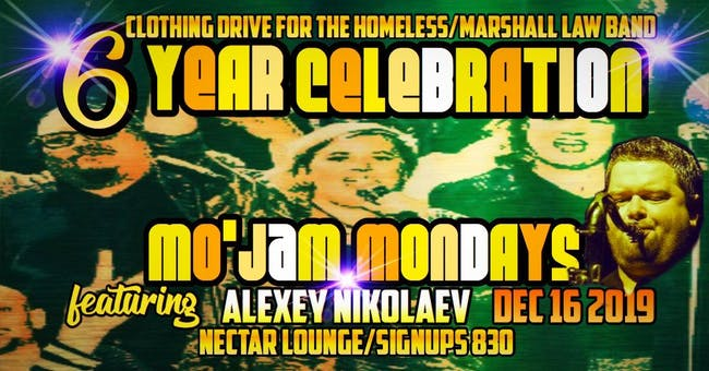 Mo' Jams 6 Year Party ft. Alexey Nikolaev/Clothing Drive