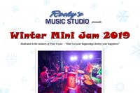 Rocky's Music Studio - Winter Mini Jam 2019