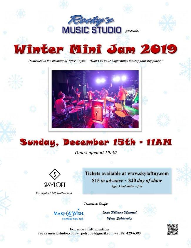 Rocky's Music Studio - Winter Mini Jam 2019