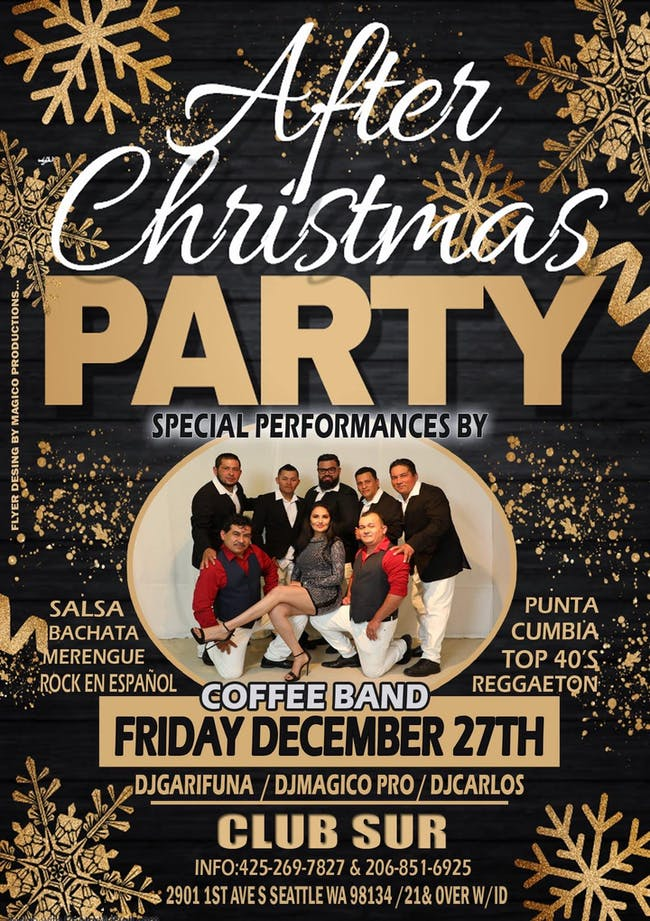 AFTER CHRISTMAS PARTY WITH LA COFEE BAND