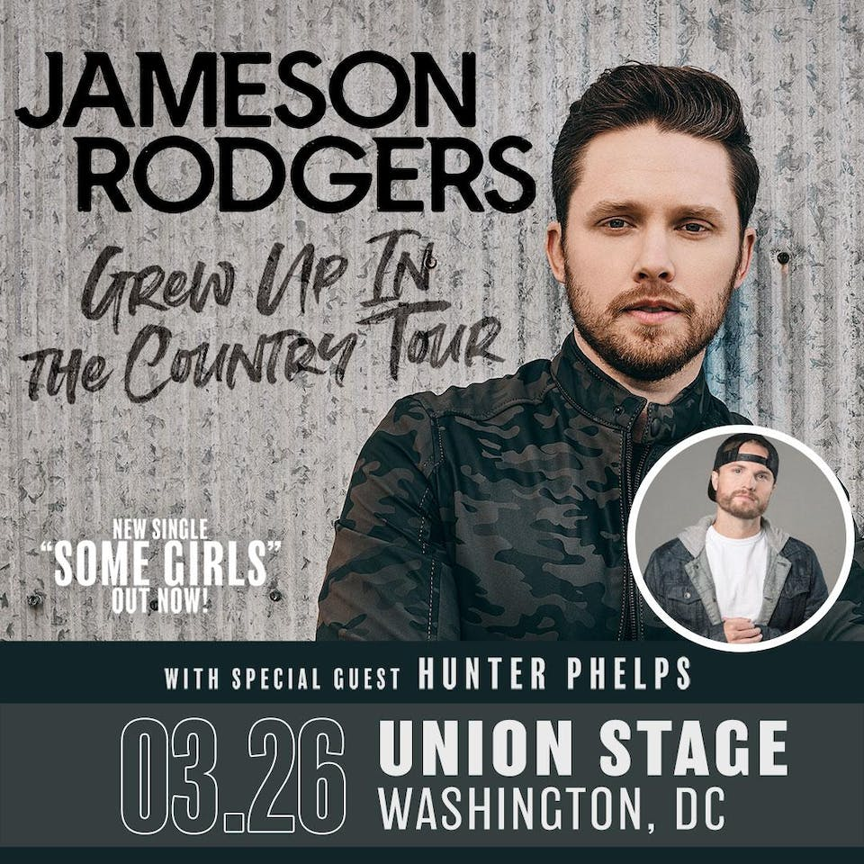 New date! Jameson Rodgers - Grew Up In The Country Tour