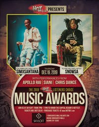 The 2019 Hot 99.1 FM Listeners Choice Music Awards