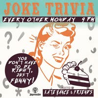 Joke Trivia: You Don't Have To Be Right, Just Funny!