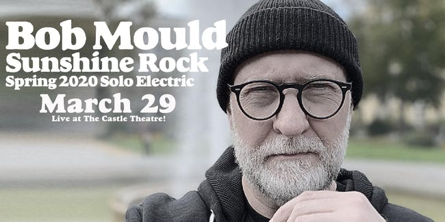 Bob Mould: Spring 2020 Solo Electric Tour