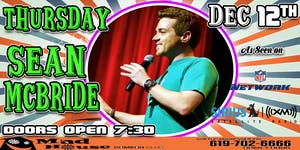 Sean McBride as seen on NFL Network, Siris XM Comedy Radio and more!