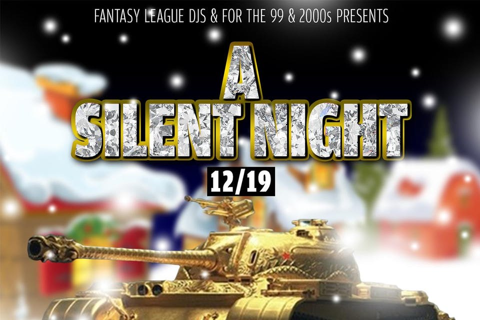 A Silent Night - Silent Disco Party