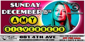 Amy Silverberg as seen on Comedy Central and the Just For Laughs Festival!