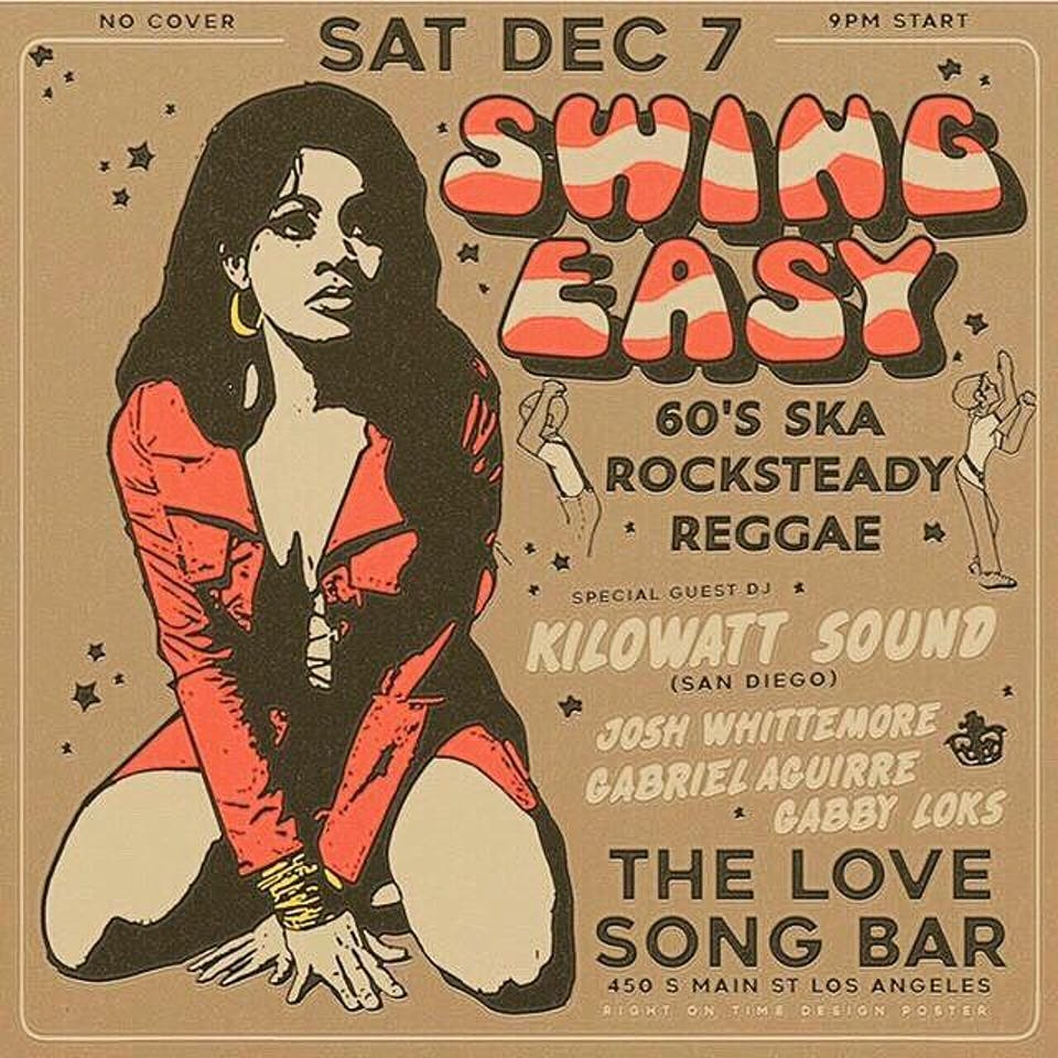 Swing Easy - First Saturday of Every Month!
