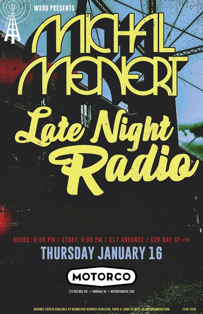 MICHAL MENERT / LATE NIGHT RADIO
