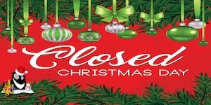 Closed Today.  Happy Holidays :)