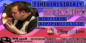 Brian Apprille as seen on NBC, Disney, Sirus XM Comedy Radio and more!