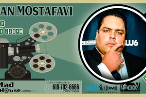 Bijan Mostafavi as seen on Laughs on Fox and Sirus XM Comedy Radio!
