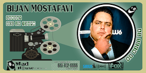 Bijan Mostafavi as seen on Laughs on Fox and Sirus XM Comedy Radio!