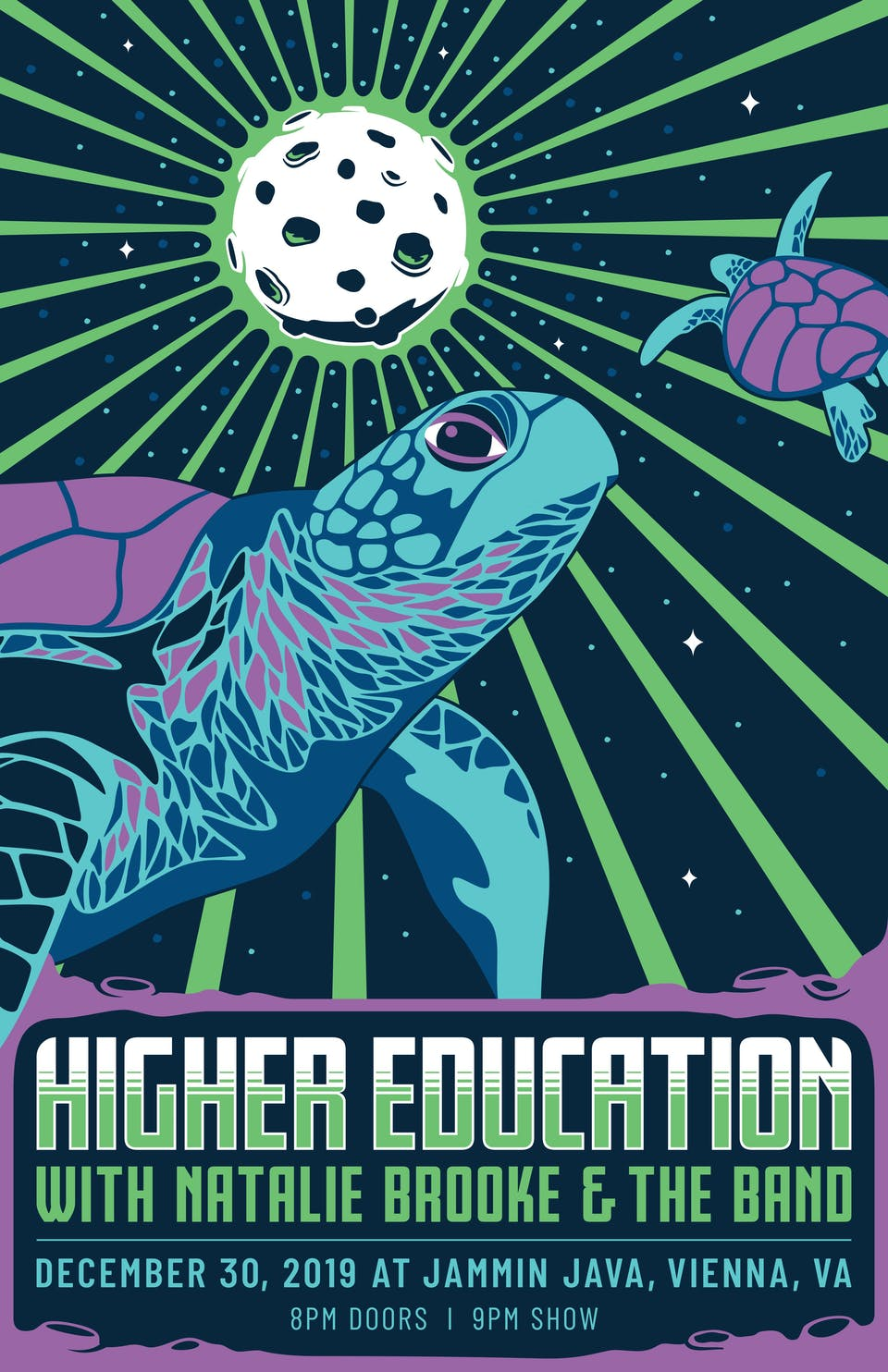 Higher Education Pre - NYE Party + Natalie Brooke & The Band