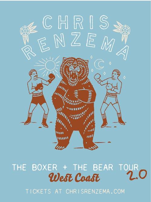 Chris Renzema - The Boxer & The Bear Tour