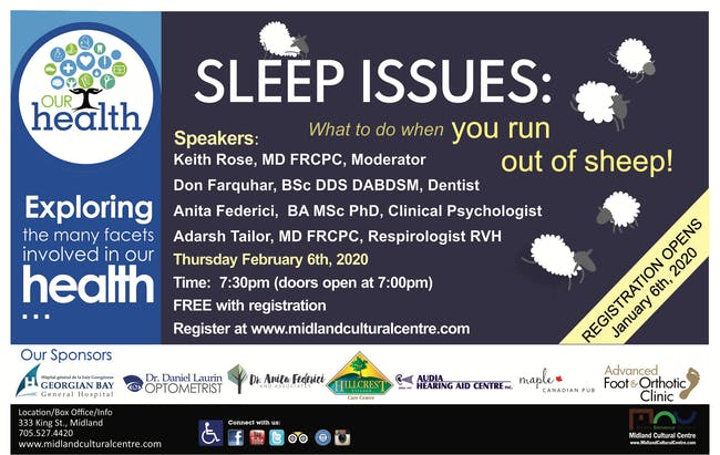Our Health: Sleep Issues (What To Do When You Run Out Of Sheep!)