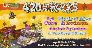 Ice Cube x Method Man & Redman w/ Action Bronson at RED ROCKS AMPHITHEATRE