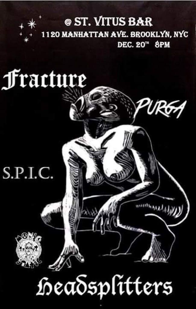 Fracture, Headsplitters, Pürga, S.P.I.C.
