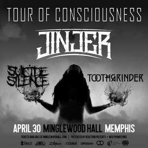 POSTPONED: JINJER Tour of Consciousness  w/ Suicide Silence & Toothgrinder