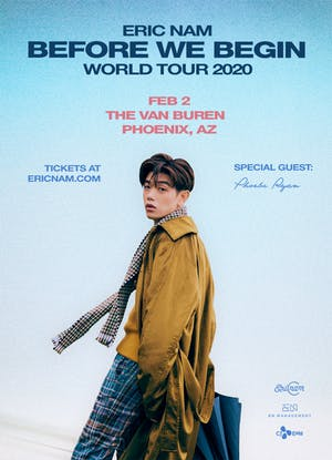 Eric Nam - Before We Begin World Tour