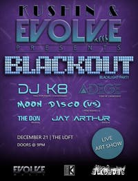 Blackout Blacklight Party
