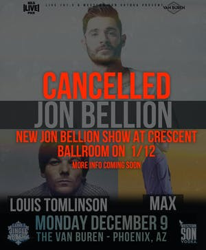 LIVE 101.5'S JINGLE BASH NIGHT 2 WITH JON BELLION, LOUIS TOMLINSON AND MA
