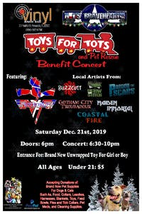 AJs BraveHearts Toys for Tots & Pet Rescue Benefit Concert
