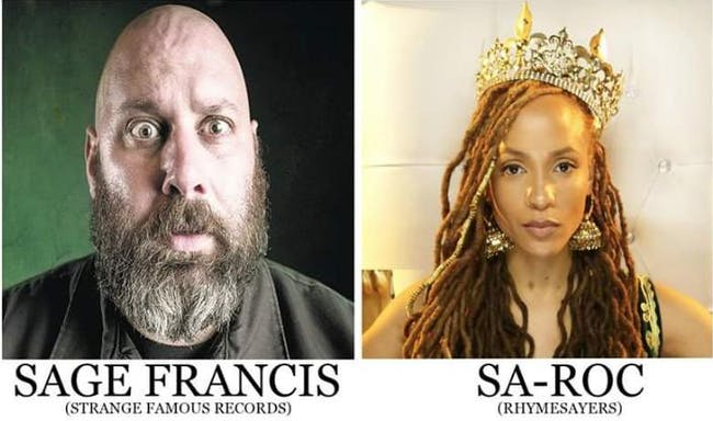 Sage Francis, Sa-Roc, Ceschi, Amplified, 1A.M., Ra-be333