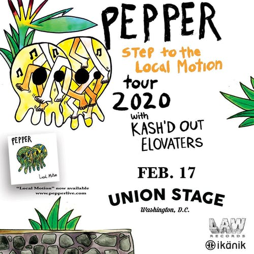 Pepper - Step to the Local Motion Tour 2020