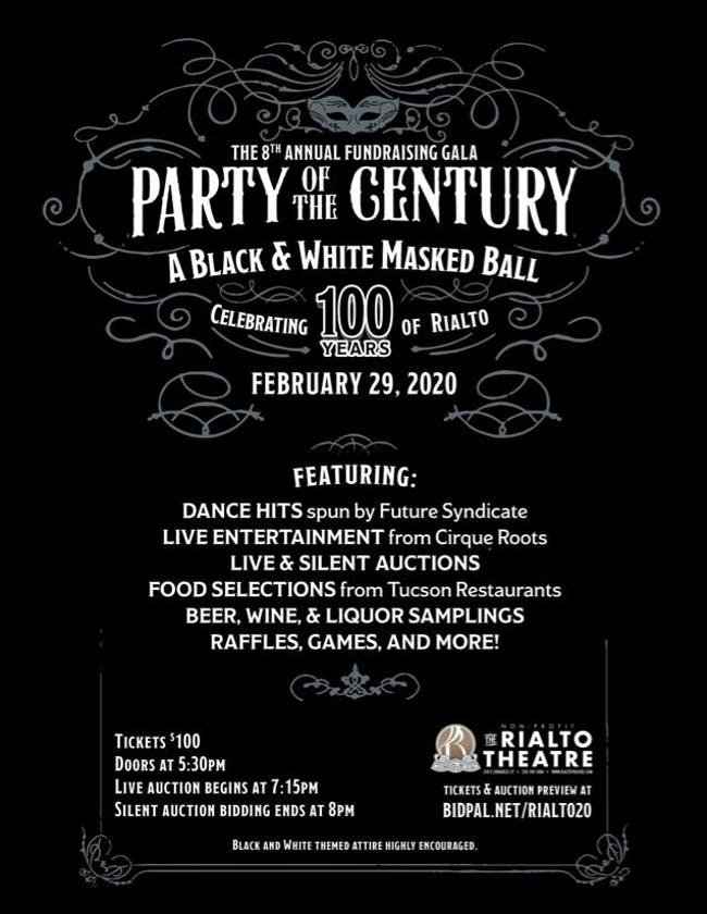 The Rialto Theatre Foundation's 8th Annual Fundraising Gala