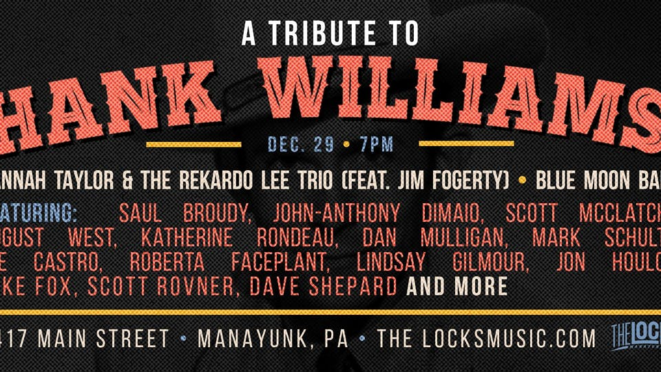 Hank Williams Tribute Benefitting The Women's Law Project