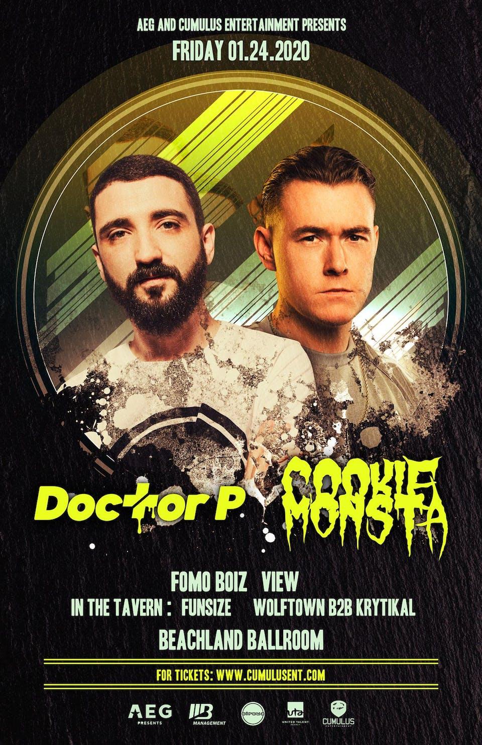Doctor P + Cookie Monsta