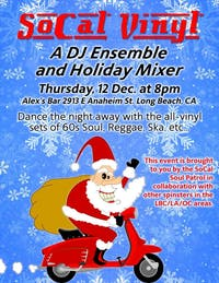 So Cal Vinyl- A DJ Ensemble & Holiday Mixer