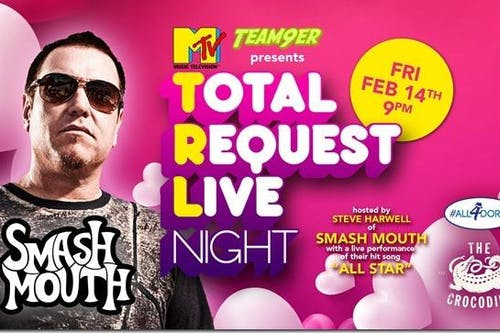 TRL Total Request Live Night: Hosted by Smashmouth's Steve Harwell