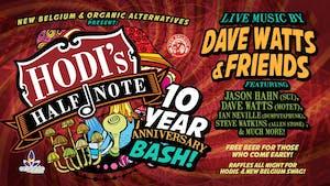 New Belgium & Organic Alternatives Present: Hodi's 10 Year Anniversary Bash