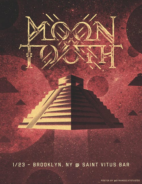 Moon Tooth, Time King, Fall of the Albatross,  Valence