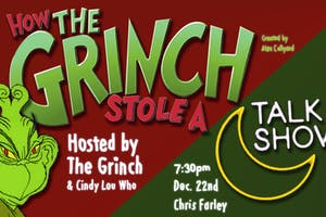 How The Grinch Stole A Talk Show