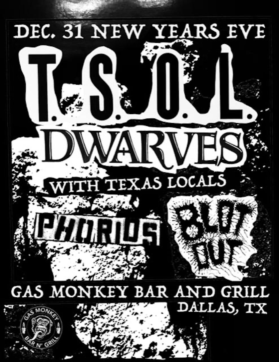 T.S.O.L & The Dwarves