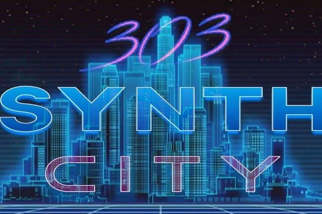 303 Synth City: Elay Arson, Goremall,  DJ Tower, Bob Sync, Wintersynth